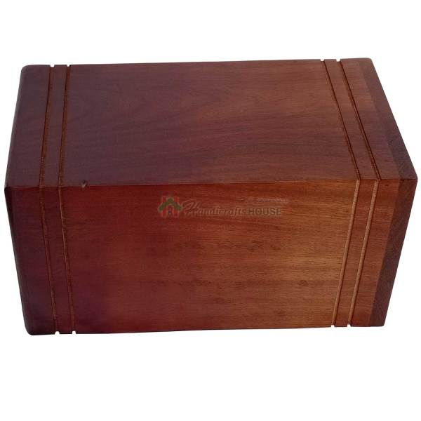 3D Hands Praying Rosewood Urns for Human or Pet Ashes, Wooden Funeral Cremation Urn for Adult, Burial Casket – Memorial Box