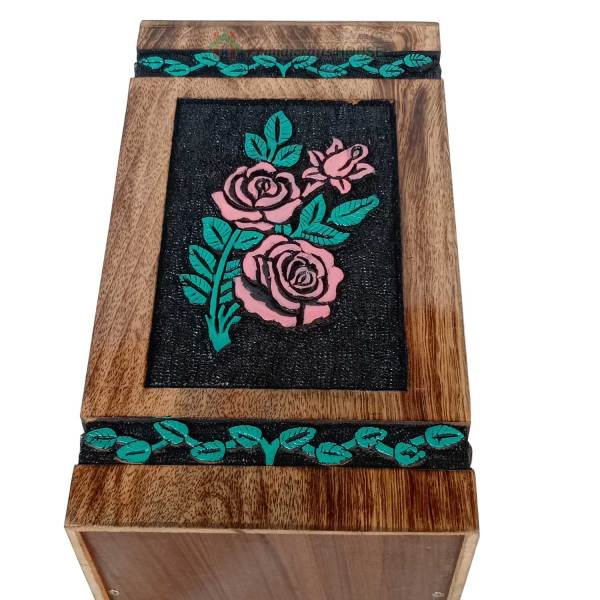 flower engraving urns for ashes