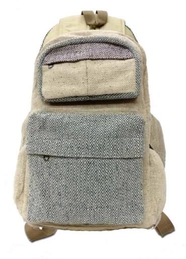 Small Mini Hemp Boho Backpack