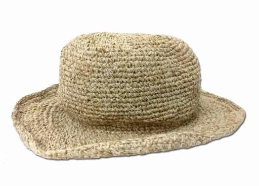 Crochet Hemp Sun Hat
