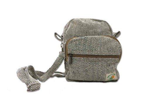 Himalayan Hemp Messenger Bag