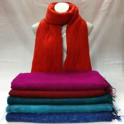 Himalayan Yak Wool Shawl bright colors