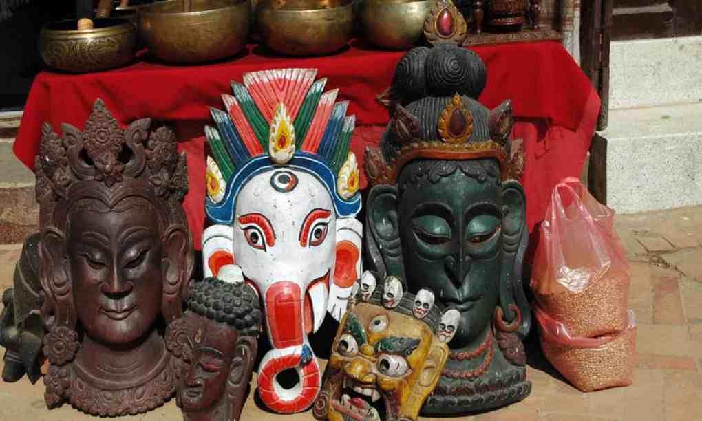 Nepali Masks