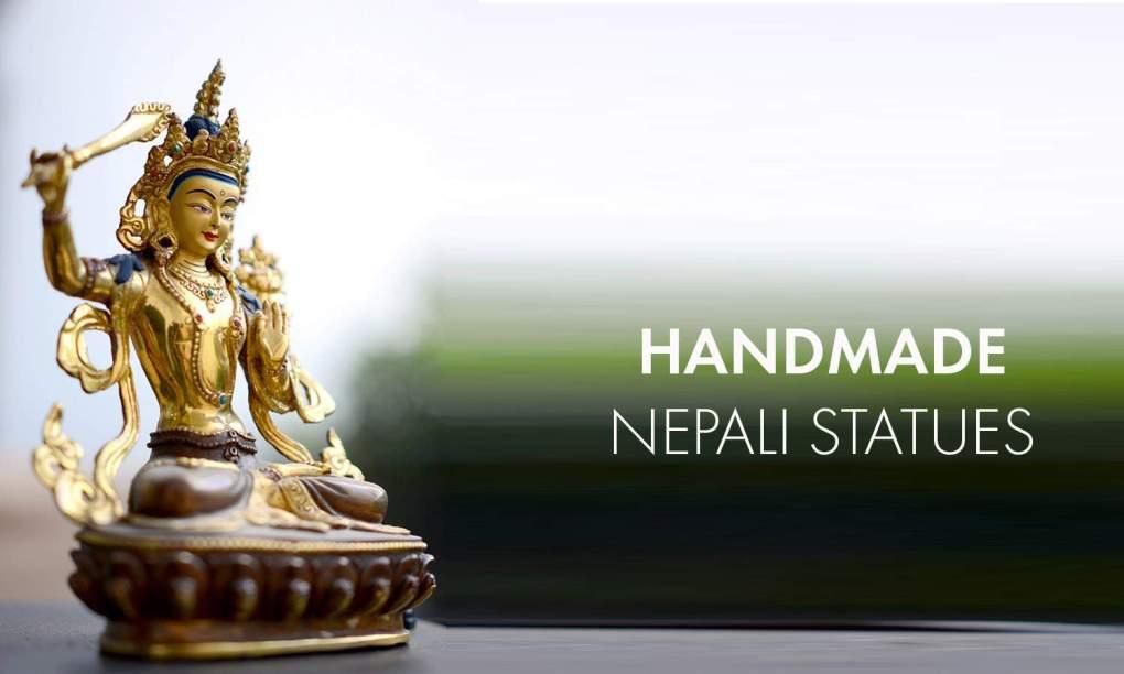 Nepali statues