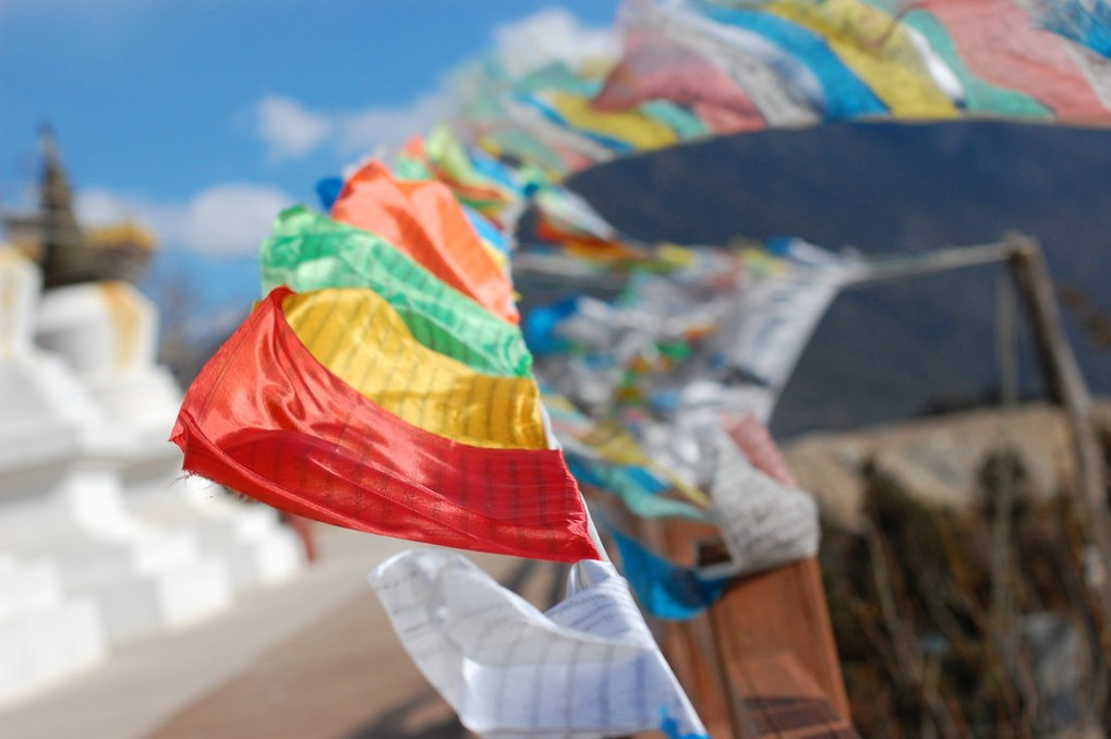 How to Hang Prayer Flags? 2