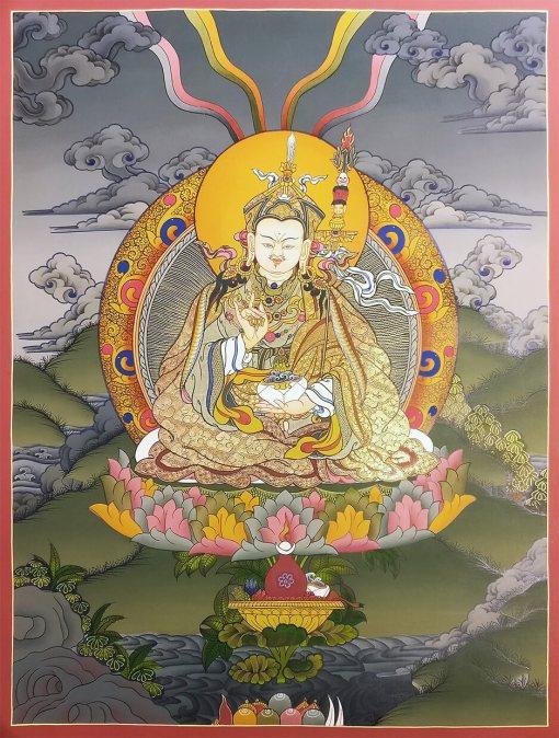 Guru Rimpoche Padmasambhava Thangka