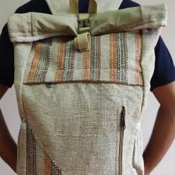 Hemp Rucksack Bag 3