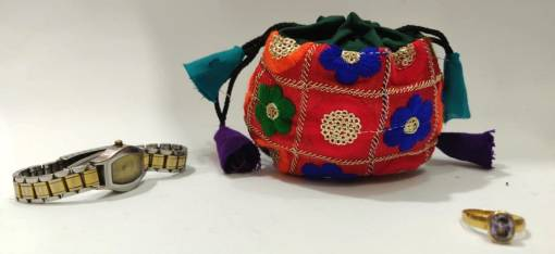 jewelry drawstring pouch bag
