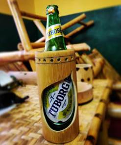 bamboo beer holder made in nepal