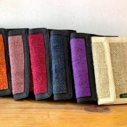 hemp wallet colors