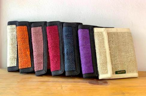 hemp wallet colors