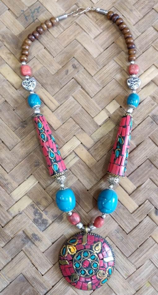 Tibetan Beads Necklace 5