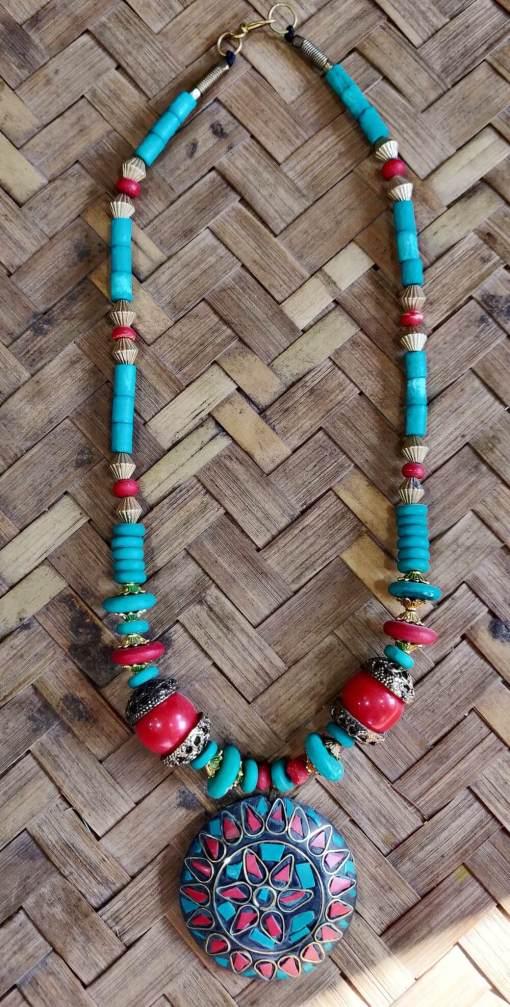 Tibetan Beads Necklace 2