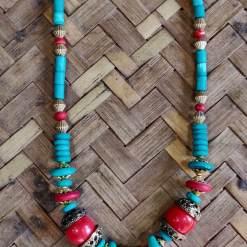 Tibetan Beads Necklace 8