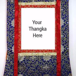 thangka silk brocade