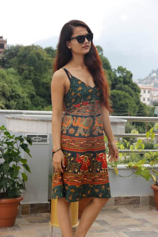 Mithila Cotton Summer Dress