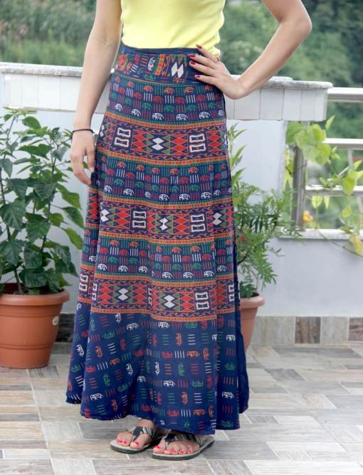 Janaki Cotton Wrapper Round