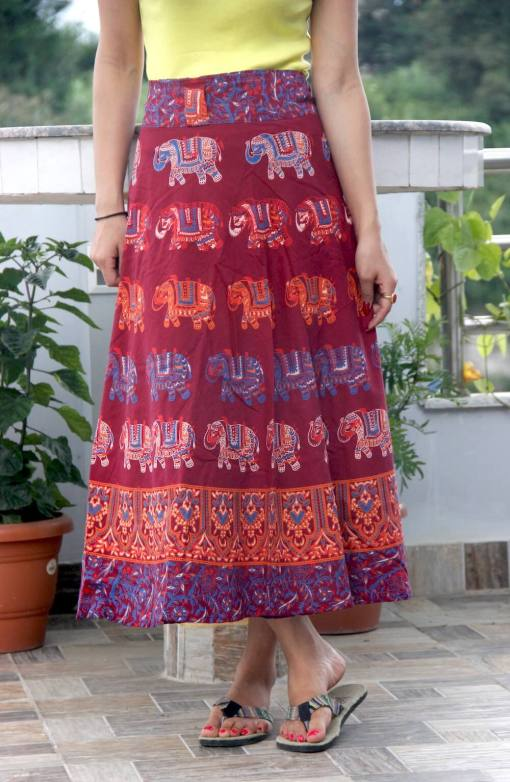 Janaki Cotton Wrapper for women