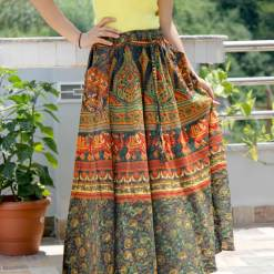 Janaki Cotton Skirt with Pocket