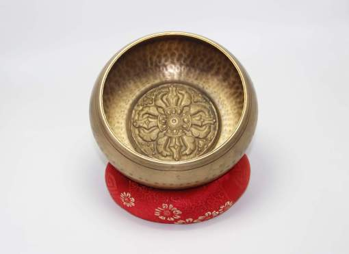 Hand Carved Dorje Singing Bowl