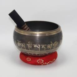 Hand Etched Dorje Singing Bowl