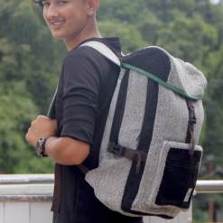 Kalapathar Hemp Backpack