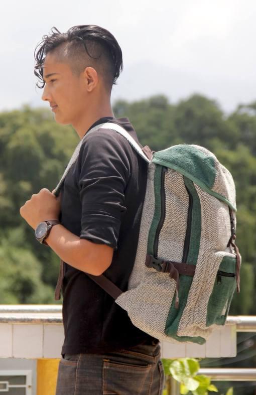 Safari Hemp Backpack