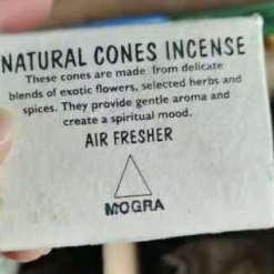natural cones incense mogra