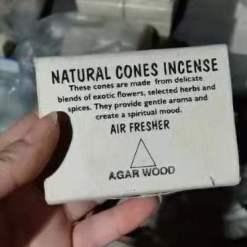 natural cones incense agarwood