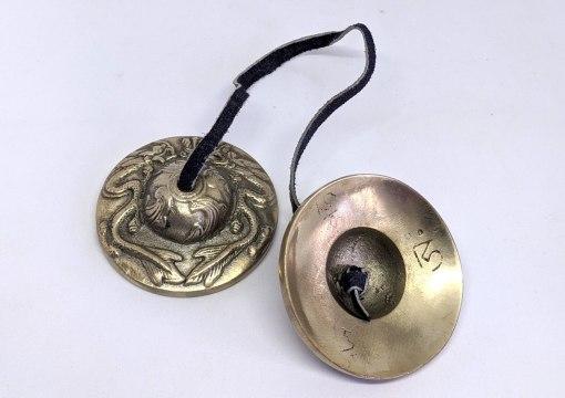 Brass Dragon Meditation Cymbal