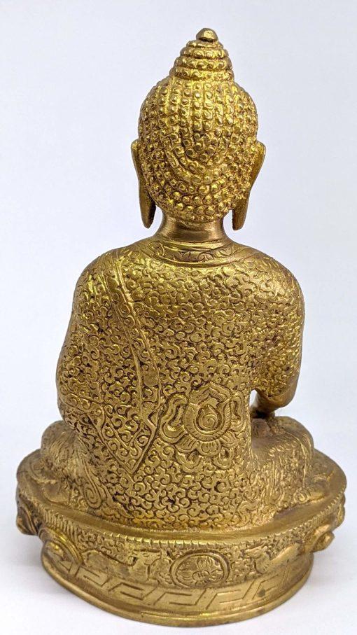 Brass Shakyamuni Buddha Medium Statue