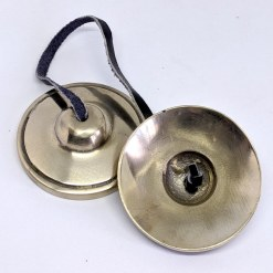 Plain Brass Meditation Tingsha