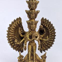 Tibetan Thousand Armed Avalokiteshvara Statue