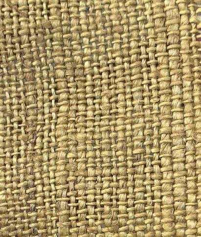 hemp dark yellow color fabric