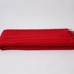 Yak Wool Shawl Red Color