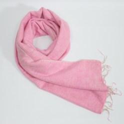 Yak Wool Shawl Light Pink Color