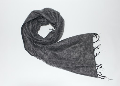 Yak Wool Shawl Grey Color