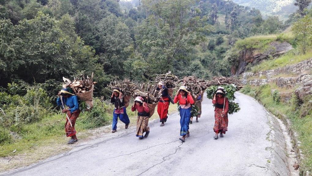 how is hemp fibre produced in nepal