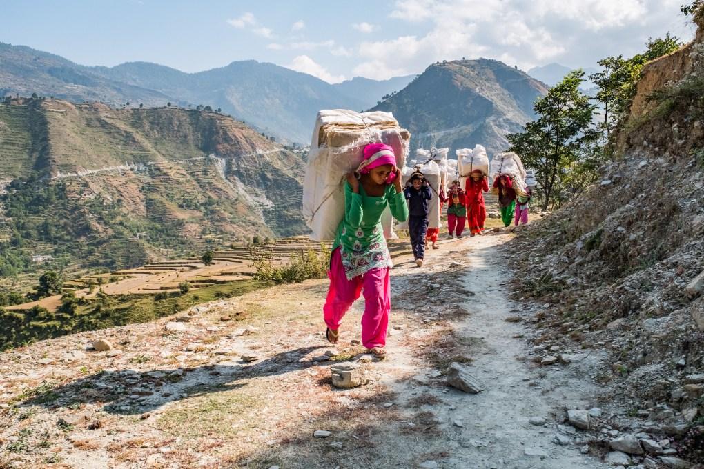 bajhang hemp nepal local women empowerment