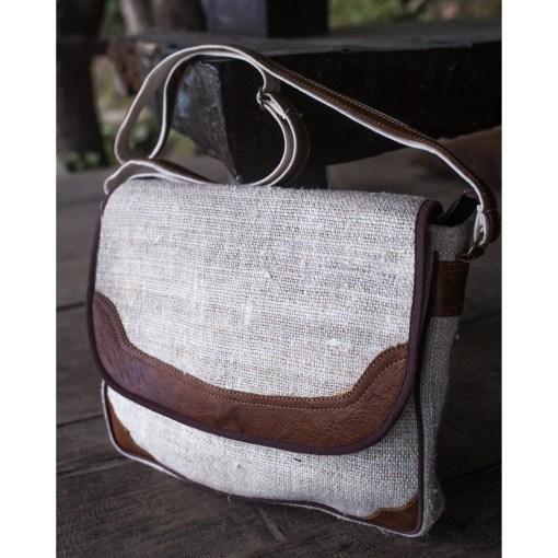 Wild Hemp Messenger Bag