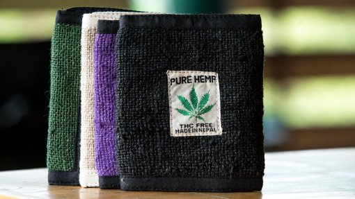 Hemp Tri Fold Wallet