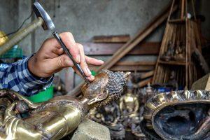 local artisans handicrafts in nepal