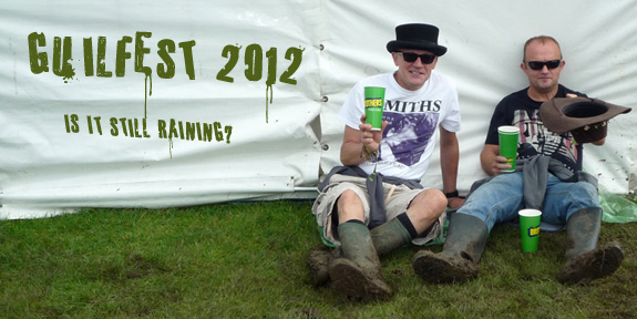 Guilfest 2012 - is it still raining?