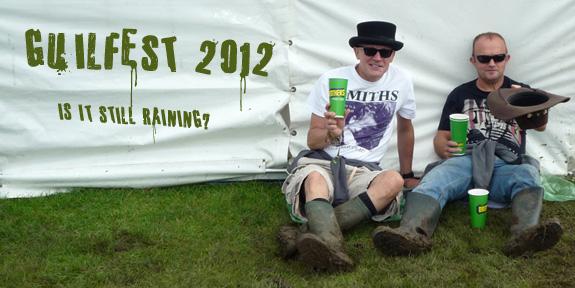 Guilfest 2012 - is it still raining?