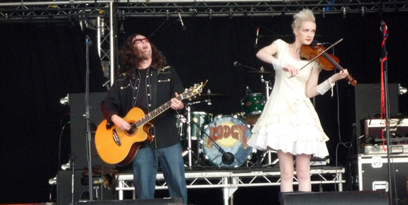 Wonder Stuff - Guilfest 2012
