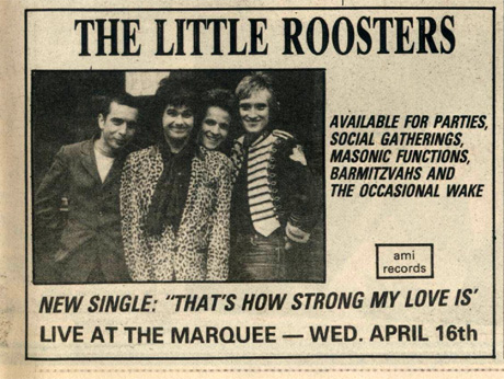 The Little Roosters - 'Thats How Strong My Love Is' Advert