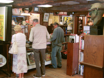 Collectors and Perusers Enjoy Time in the Shop