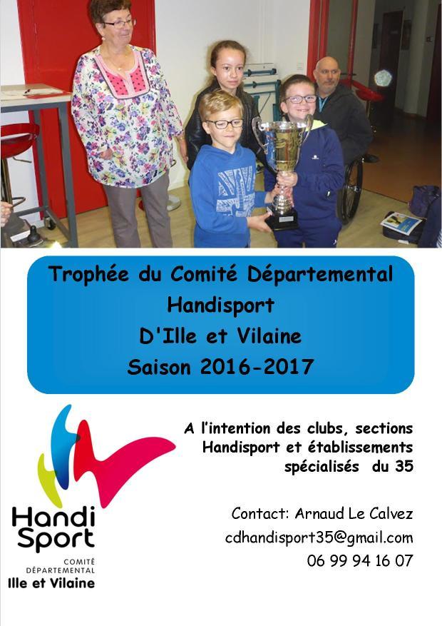 Affiche trophee CDH35 2016 2017