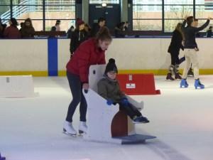 Lino sur la glace