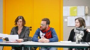 Caroline Rezé (groupe Actual) et Arnaud Le Calvez (CDH35)